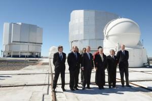 Presidente Piñera visita Paranal para anunciar transferencia de terrenos para el E-ELT