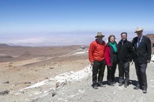 Conicyt inaugura Parque Astronómico Atacama