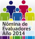 Evaluadores 2014