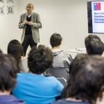 CONICYT realiza charla informativa para estudiantes que se adjudicaron Beca de Estadías Cortas