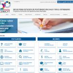 Becas CONICYT presenta su nuevo sitio web