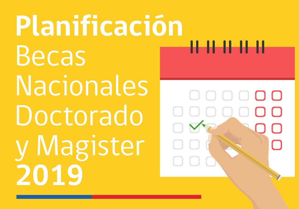 Calendario Marzo 2020 Chile.Conicyt Informa Calendario Para Becas De Doctorado Y