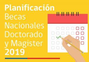 CONICYT informa calendario para Becas de Doctorado y Magíster Nacional