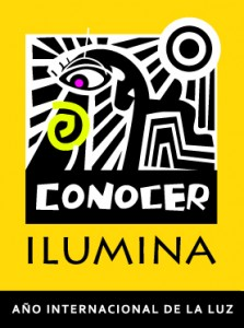 Banner Vertical LUZ Amarillo