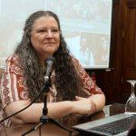 """Diana Maffía, doctora en filosofía: """"La responsabilidad de disminuir la brecha de género, no es de la mujer, es de la comunidad y el Estado"""""""