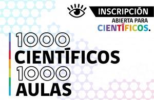 Se abren las inscripciones 1000 Científicos 1000 Aulas 2016
