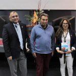 Eric Goles presentó su último libro en Arica invitado por PAR Explora