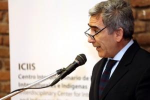 El rector de la Universidad Diego Portales, Carlos Peña