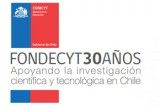 Brochure Fondecyt 30 Años