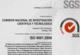 Certificado ISO 9001:2008
