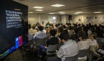 Taller de Bioética de CONICYT debate sobre los desafíos en investigación en seres humanos
