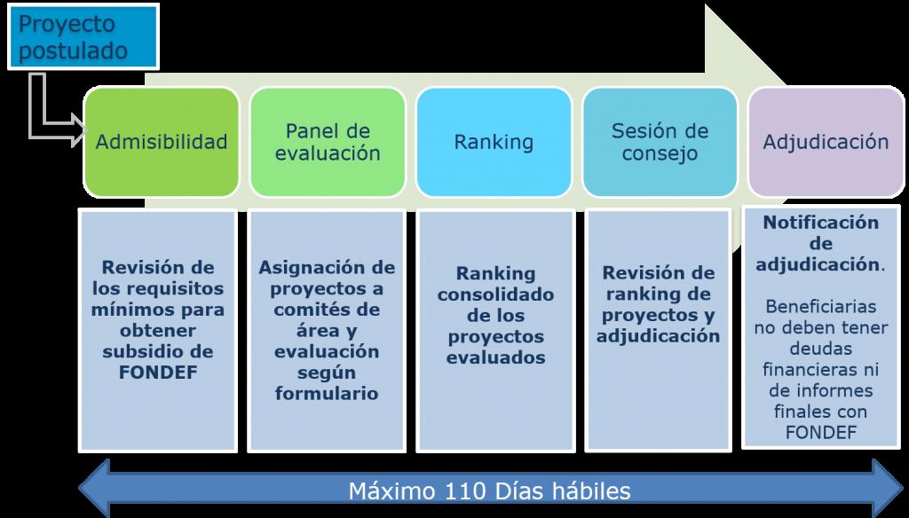Proceso de evaluación y adjudicación