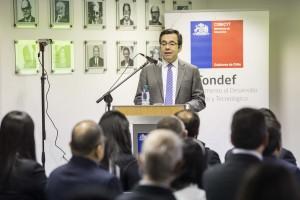 """""""Este concurso nos ayudará en el levantamiento de información, para entender mejor este fenómeno y las potenciales acciones para mitigar sus efectos"""", señaló el ministro Céspedes."""