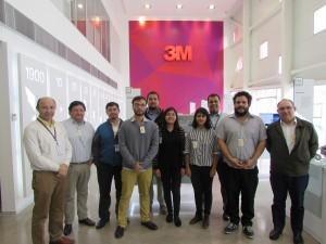 Ganadores Fondef VIU UBB presentan ideas innovadoras a 3M