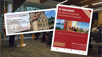 Investigadores chilenos celebran encuentros en el extranjero