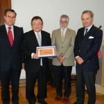 CONICYT entrega Premio 2012 de Excelencia Científica Abate Juan Ignacio Molina