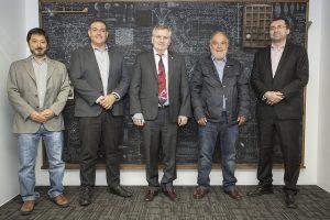 Comitiva de expertos de FAPESP visitan CONICYT para definir futuras convocatorias conjuntas