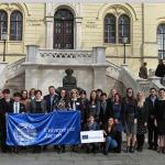 Delegación chilena visitó la Universidad de Zagreb