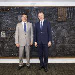 CONICYT recibe delegación de la República de Letonia