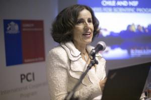 """Directora de NSF: """"creo que no existe un mayor socio para nosotros que Chile"""""""