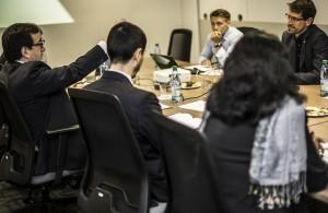 CONICYT recibe la visita de profesionales de AKA Finlandia y del AiF Projekt GmbH del Ministerio de Economía de Alemania