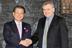 Autoridades japonesas se reúnen con el presidente del Consejo de CONICYT