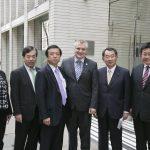Parlamentarios de Japón se reúnen con el presidente del Consejo de CONICYT