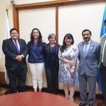 Delegación de CONICYT realiza visita a SENACYT en Guatemala