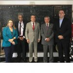 CONICYT se reúne con el secretario nacional de ciencia de Ecuador
