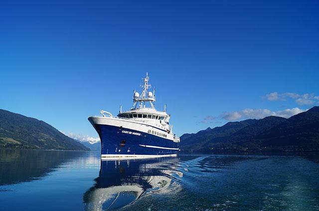 El buque oceanográfico Cabo de Hornos, es considerado una de las cinco naves científicas más modernas del mundo.