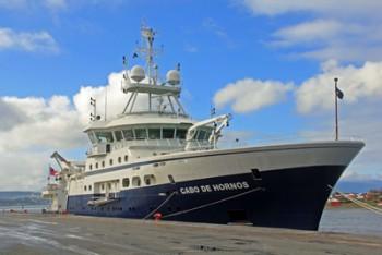 UDEC y Sernageomin se adjudican tiempo de uso de buque oceanográfico Cabo de Hornos
