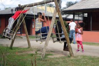 Talleres comunitarios de teatro para niños chilenos y extranjeros