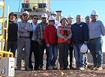 Ministra Aurora Williams visita planta minera piloto de CICITEM