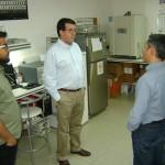 Director ejecutivo de CONICYT visita laboratorios del CIHDE en Arica