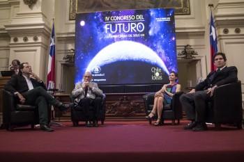 Presidente de CONICYT participa de la ceremonia de bienvenida al IV Congreso del Futuro