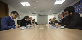 Los miembros del Consejo de CONICYT durante la primera sesión (Foto: CONICYT).