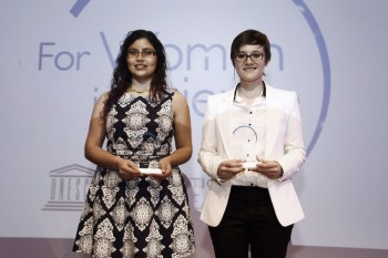 "Alumnas de doctorado de la PUC y de la UChile reciben el Premio ""For Women in Science"""