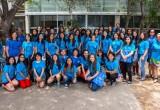 Alumnas de enseñanza media participan en Campamento de Matemáticas