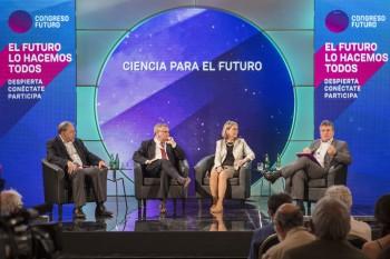 Presidente de Conicyt participa activamente en el Congreso del Futuro