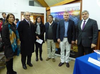 Doctor Mario Hamuy presenta proyecto que crea Ministerio de CyT en la UBB