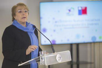 Presidenta Michelle Bachelet presenta nuevas convocatorias  para Investigadores jóvenes en CONICYT