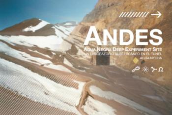 CONICYT apoya creación del laboratorio subterráneo ANDES