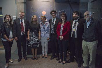Primera Dama celebra Día de la Astronomía junto a CONICYT en el MIM