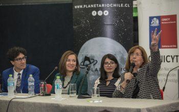 Tres generaciones de astrónomas dieron el vamos al Día de la Astronomía 2018