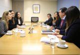 Director Ejecutivo de CONICYT se reúne con la Ministra Isabel Plá