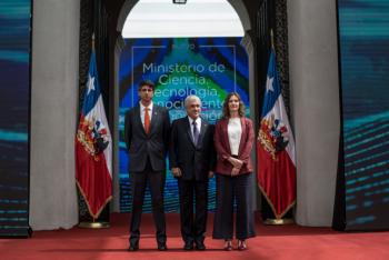 Presidente Piñera pone en marcha nuevo Ministerio de Ciencia y Tecnología